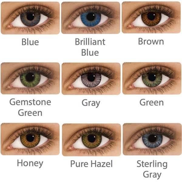 Air Optix Colors On Dark Brown Eyes